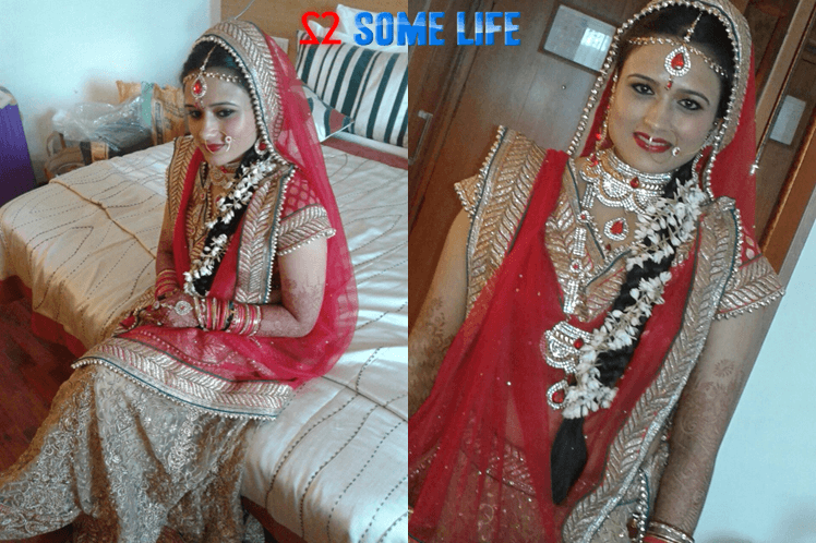 Indian wedding bride solo