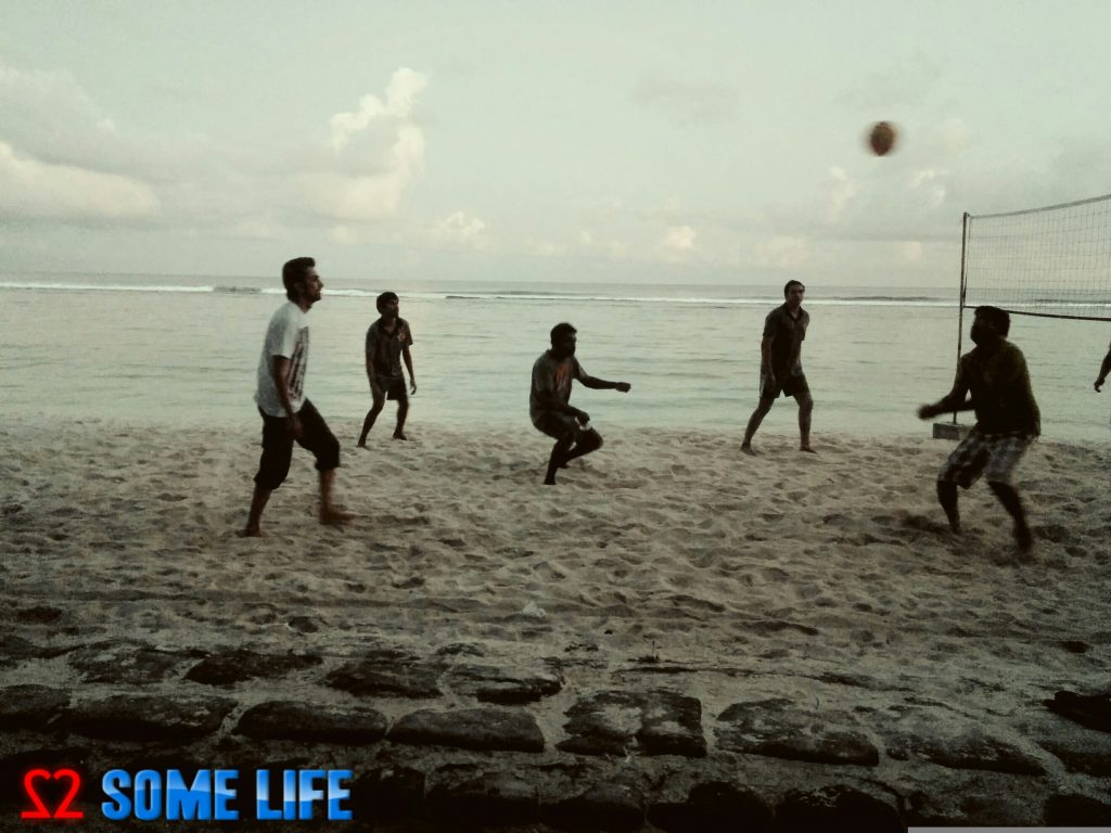 maldives beack volleyball