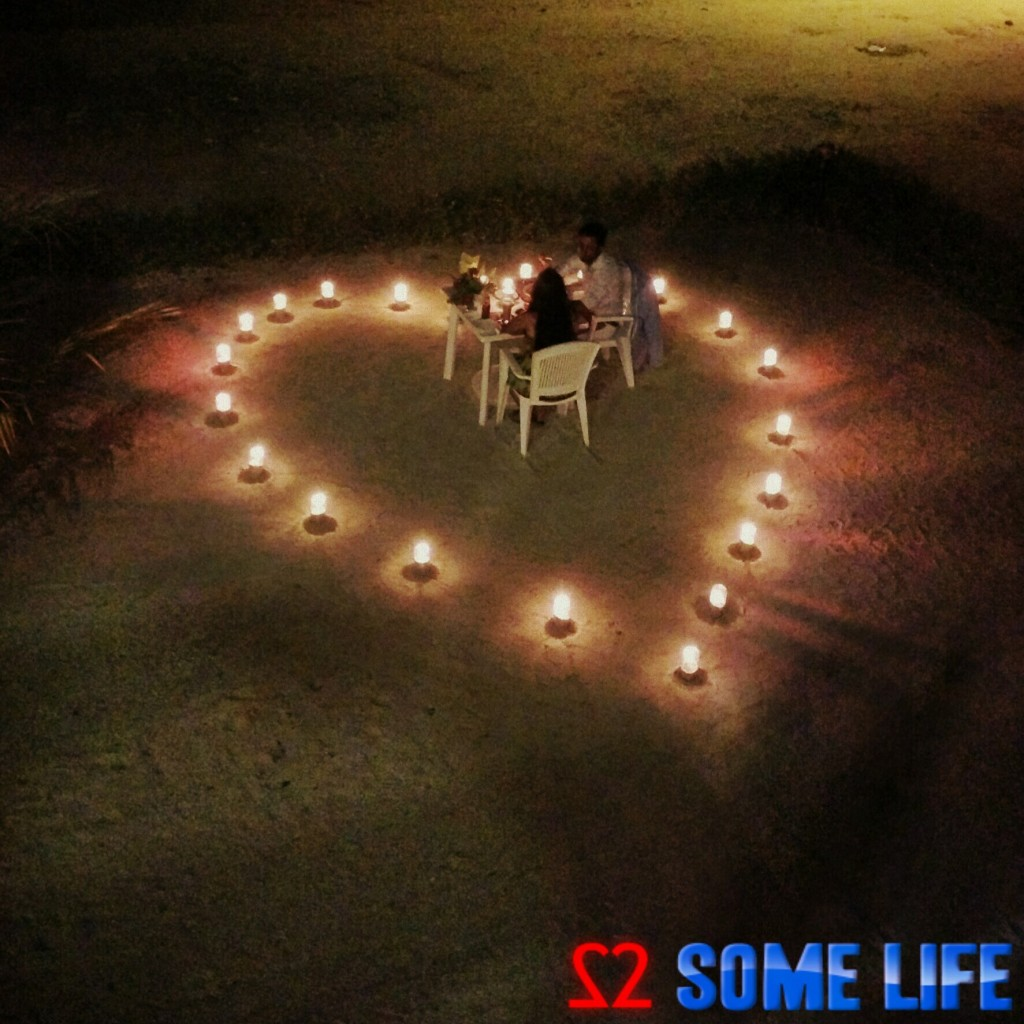 Maldives Diaries - A Surprise Romantic Beach Side Candle light Dinner