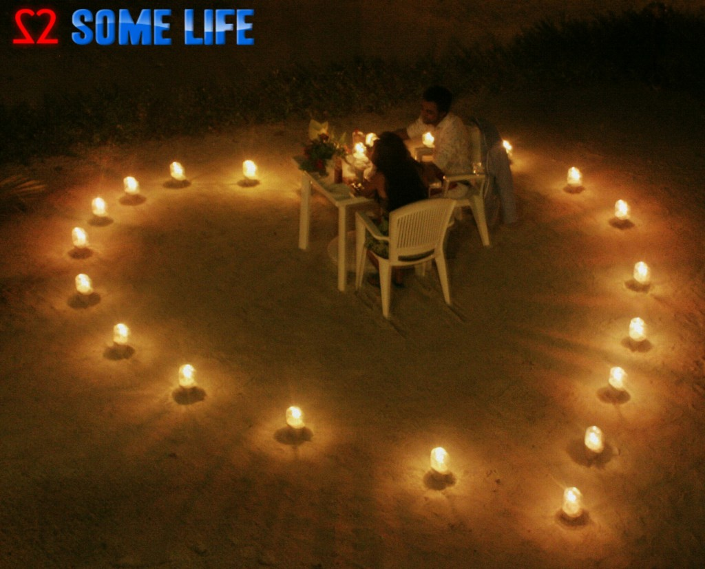 Maldives Diaries - A Romantic Candle light Dinner