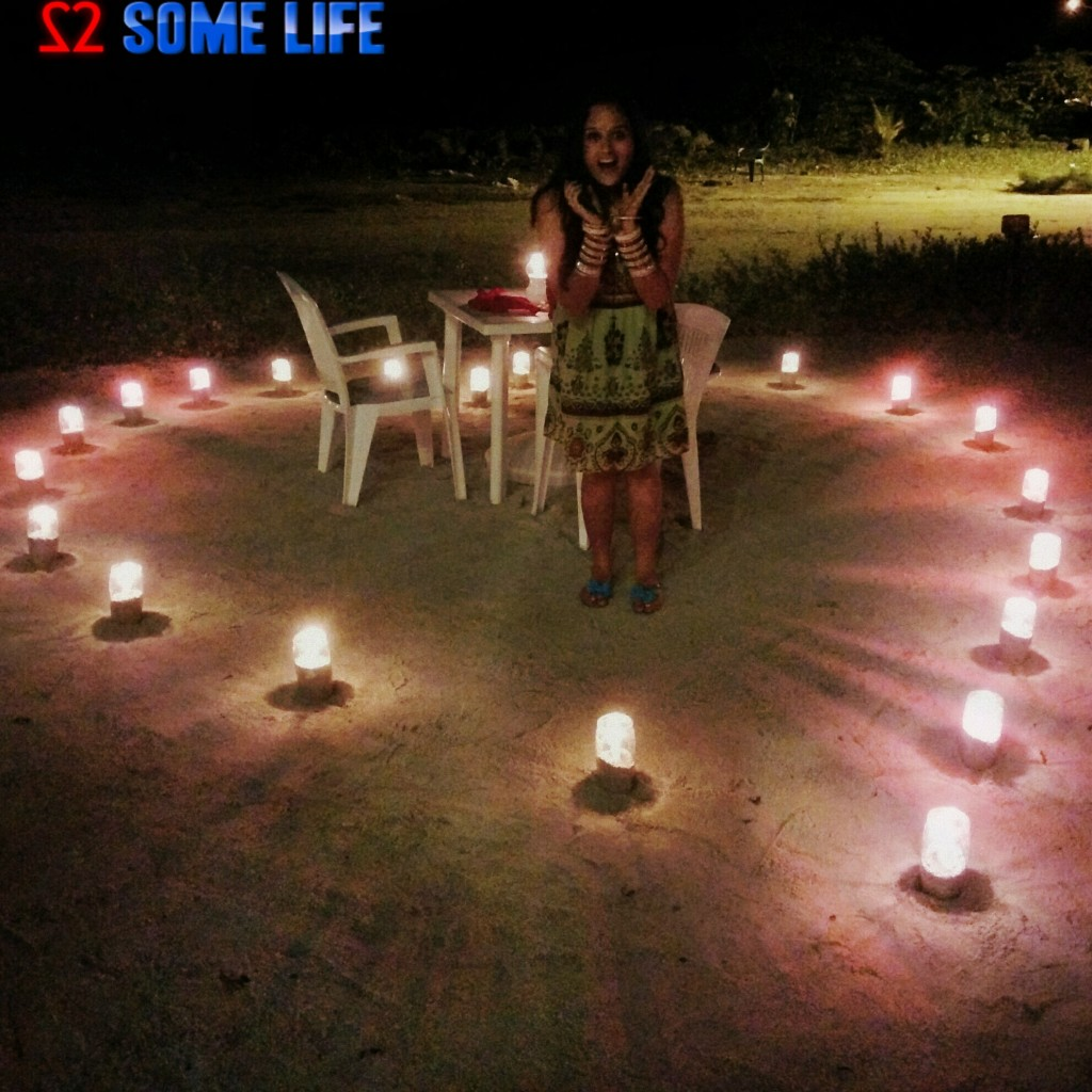 Maldives Diaries - A Surprise Beach Side Candle light Dinner_Twosomelife