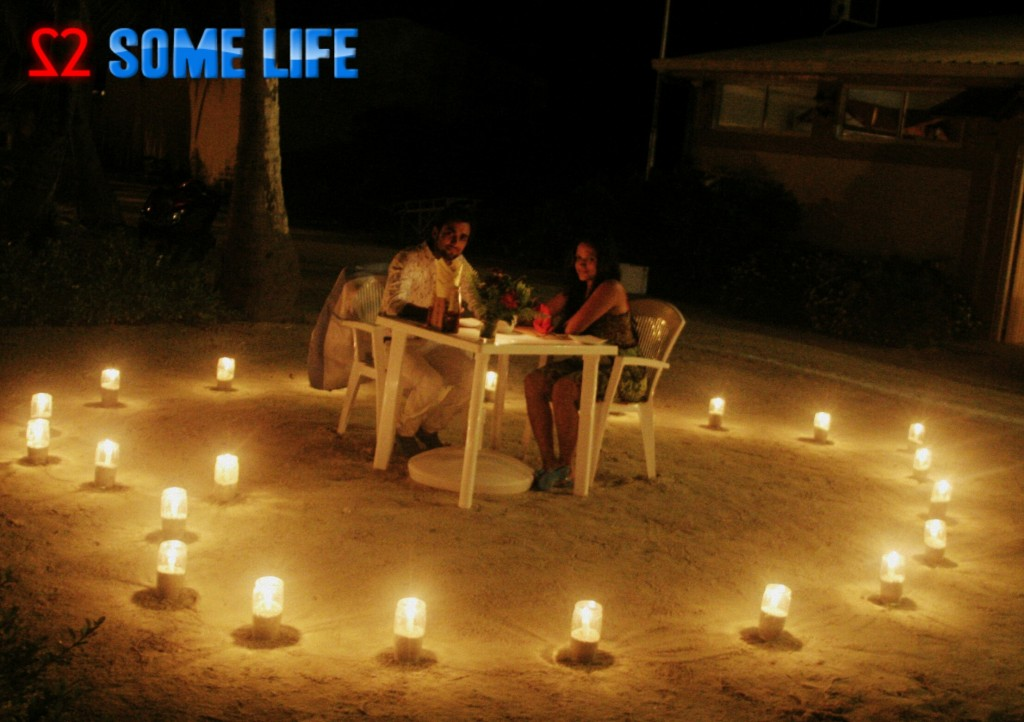 Maldives Diaries - A Surprise Beach Side Candle light Dinner