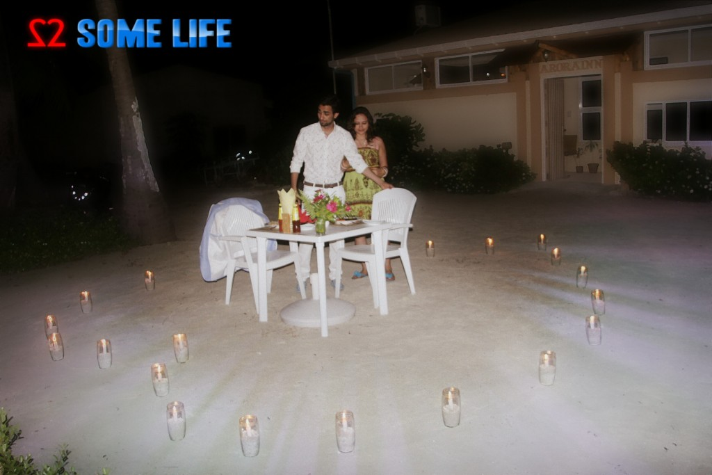 Maldives Diaries - A Surprise Beach Side Candle light Dinner for Couples