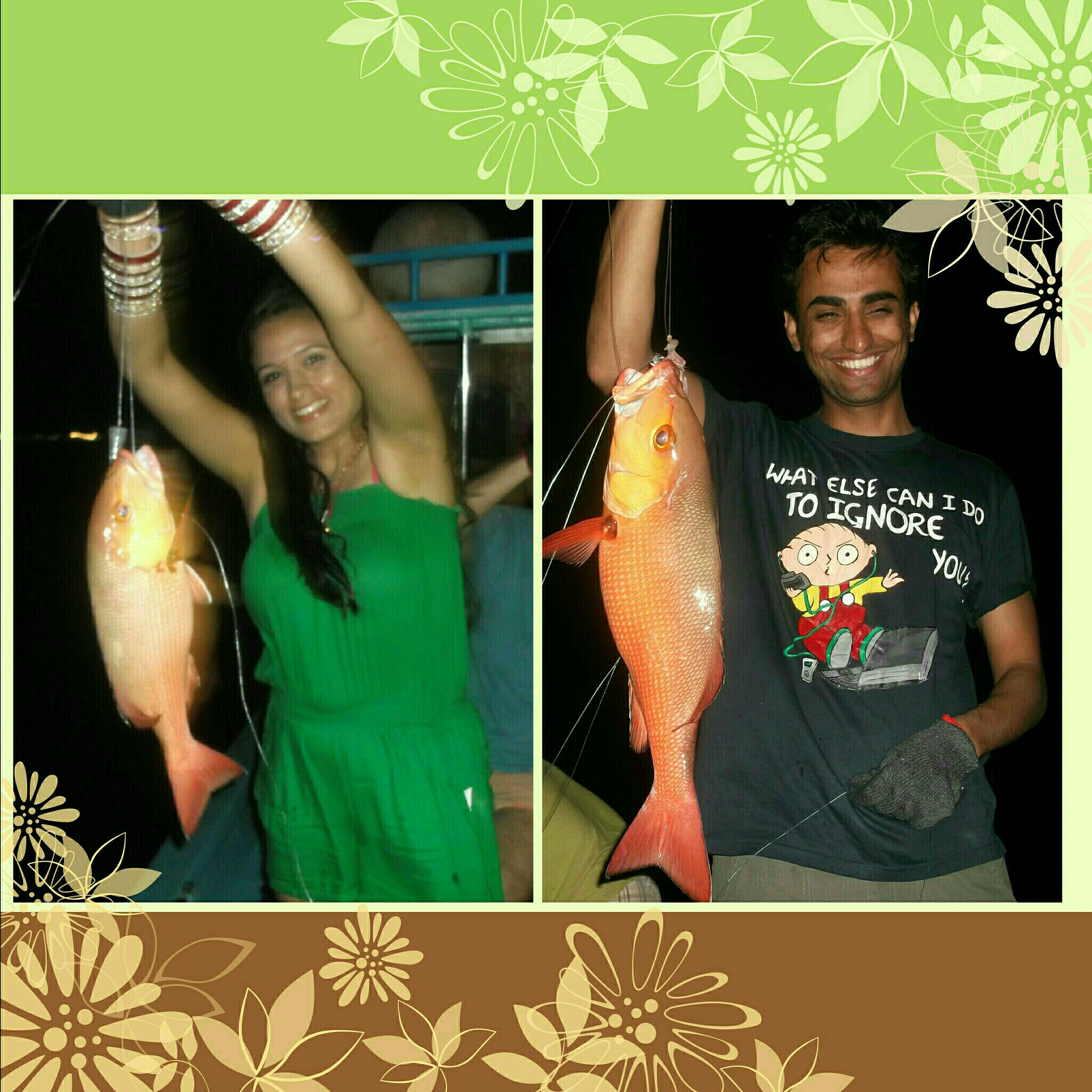 Maldives night fishing 7