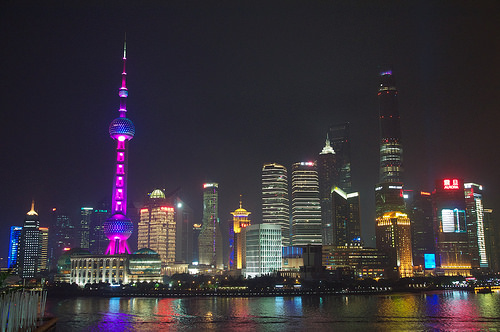 The Bund  Shanghai  China