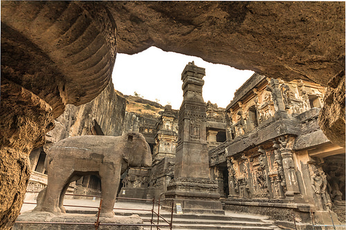 Ancient Cave Temples  Maharashtra  India