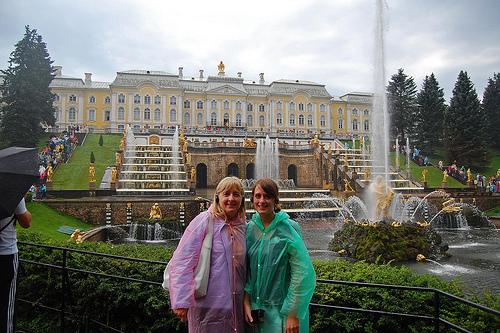 Peterhof  St Petersburg  Russia